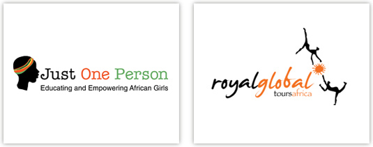 logo designs with silhouettes of african people