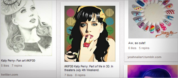Katy Perry fan art on Pinterest