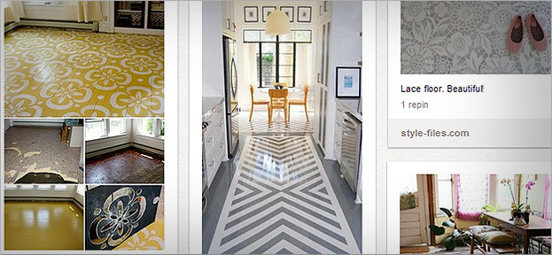 Stunning floors on Pinterest